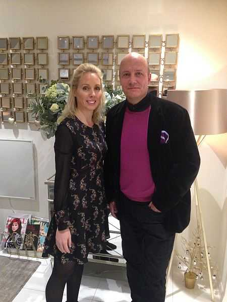 Lisa Franklin luxury Knightsbridge facial pampered in glamour - Lisa & Michael