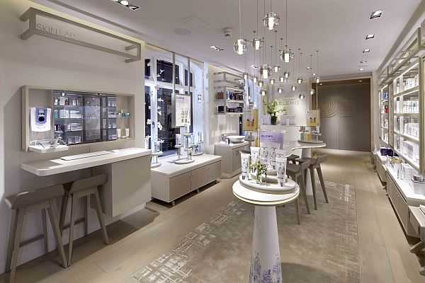 Elemis Luxury super charger facial in the heart of Mayfair - Retail area