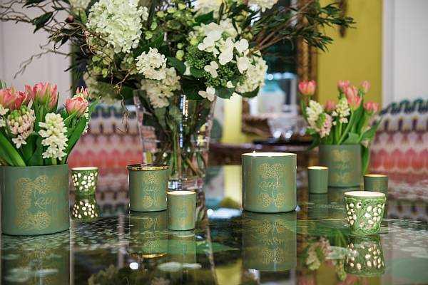 Rachel Bates Interiors Luxury Botanical Candle - Flowers & Candles
