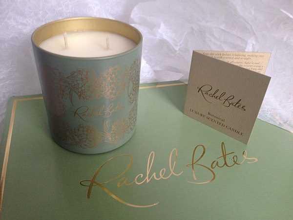 Rachel Bates Interiors Luxury Botanical Candle - Luxurious Dreaming