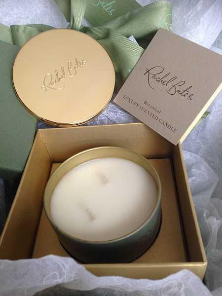 Rachel Bates Interiors Luxury Botanical Candle - Unpacking your luxury candle