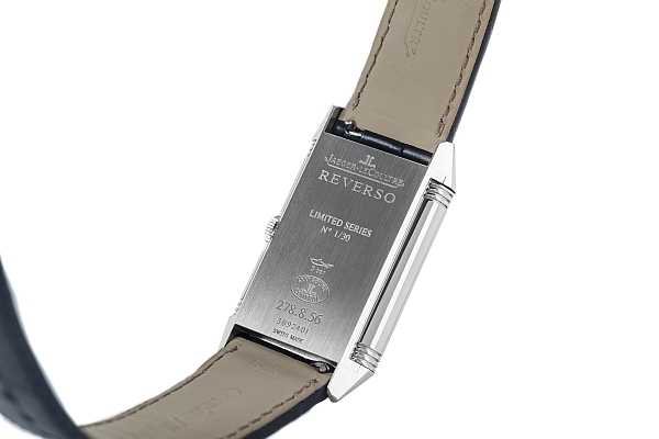The Watch Gallery & Jaeger-LeCoultre limited edition Grande Reverso - watch back and engraving