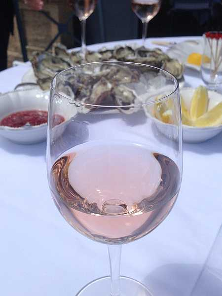 Luxury Retreats in Provence - Rose wine from Chateau Baulieu
