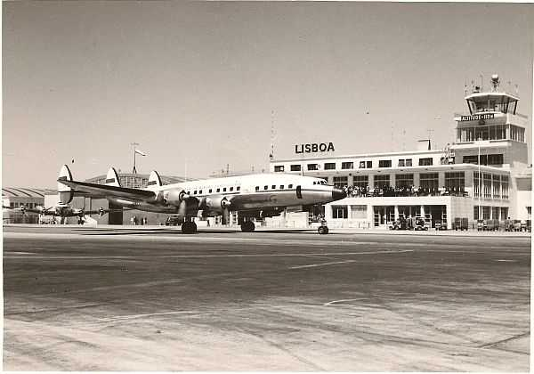Travel to Portugal's Alentejo to experience rugged luxury - 717FOTG-Super Constellation-1956 at Lisbon Airport