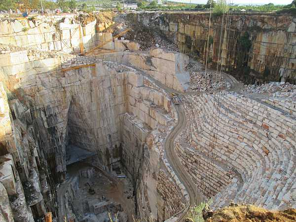 Travel to Portugal's Alentejo to experience rugged luxury - Marble mining