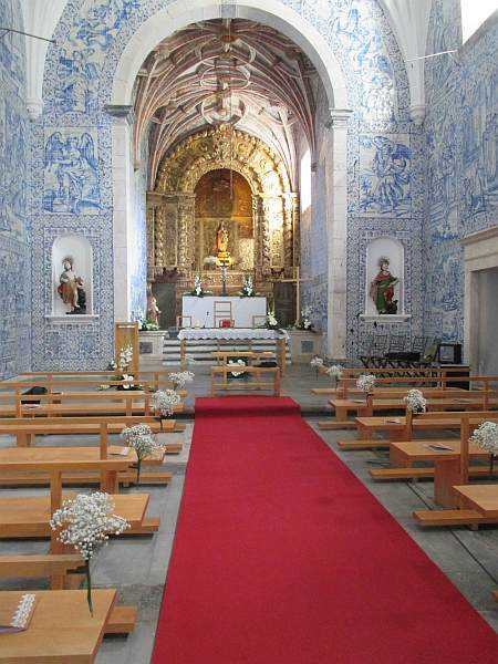 Travel to Portugal's Alentejo to experience rugged luxury - Pousada de Arraiolos Church