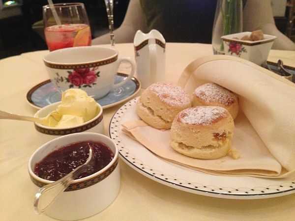 scones and cream