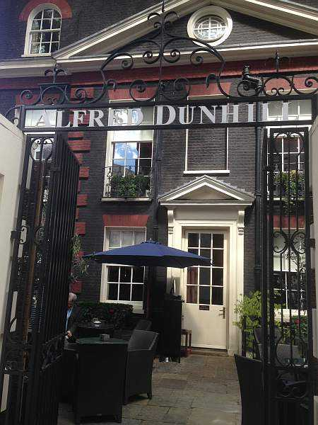 London's little, bigThe exterior of Alfred Dunhill in Mayfair