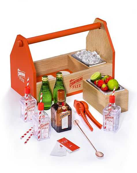 Cointreau Fizz Cocktail Kit puts zizz into your summer - All your cocktail gadgets