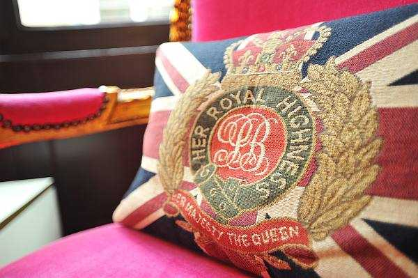 Luxury Fragrance Profiling with Penhaligon's - A royal cushion to support your posterior - Burlington Arcade