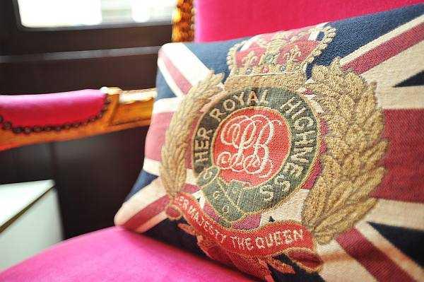 Luxury Fragrance Profiling with Penhaligon's - A royal cushion to support your posterior - Burlington Arcade