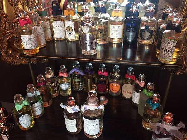 Luxury Fragrance Profiling with Penhaligon's - Your favourite perfume bottles