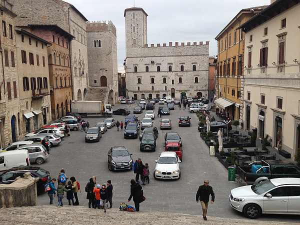 My beautiful love affair with Umbria - Its coming out of school town in Todi, Umbria