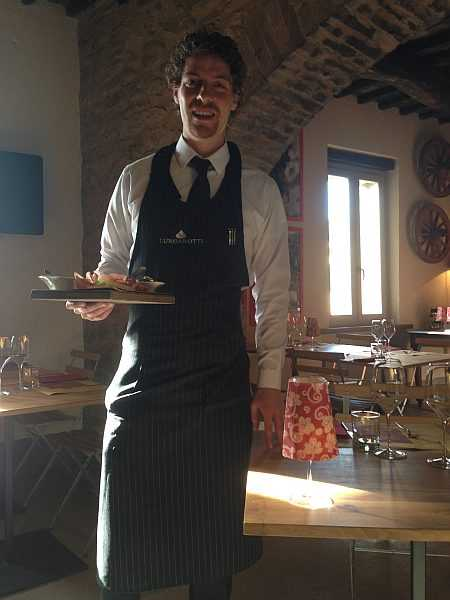 My beautiful love affair with Umbria - L'U winebar cucina umbra restaurant in Torgiano