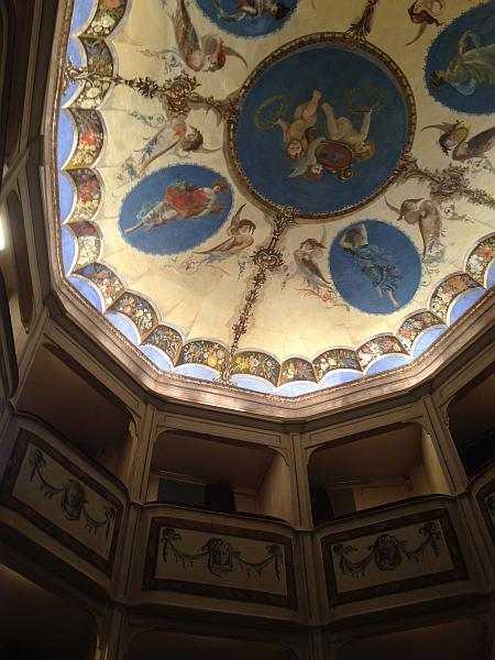 My beautiful love affair with Umbria - The tiny and totally unique Teatro della Concordia in Monte Castello di Vibio