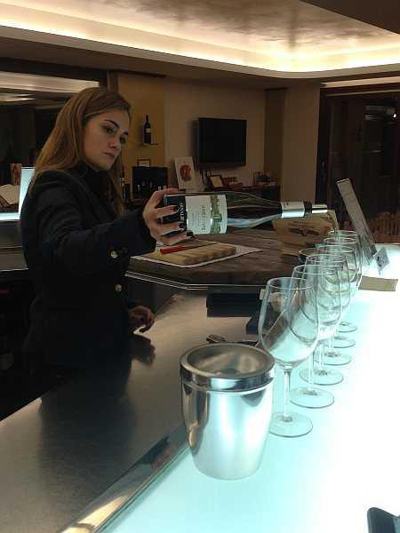 My beautiful love affair with Umbria - Wine Tasting at the fantastically run Caprai Winery www.arnaldocaprai.it