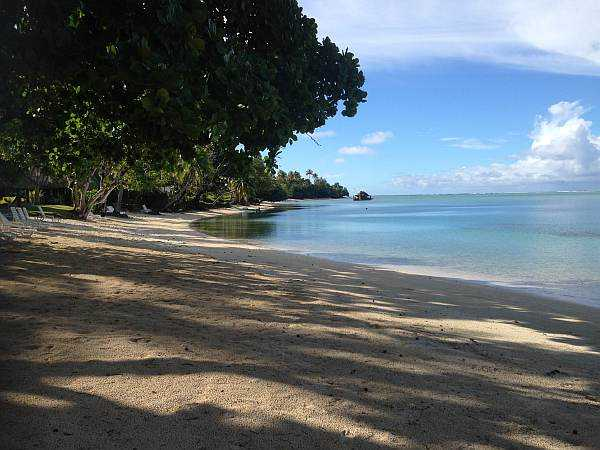Huahine beach