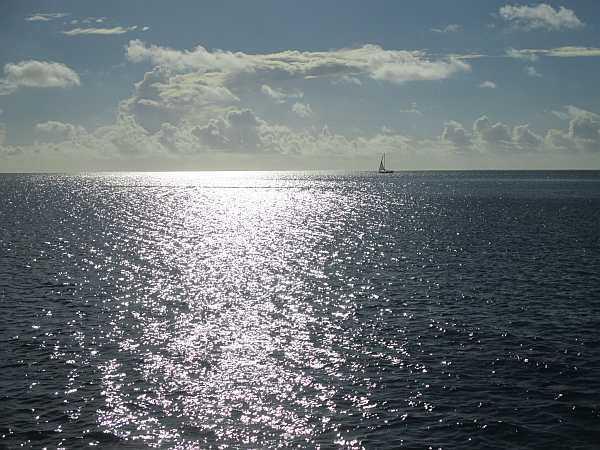 Tahiti warm winds