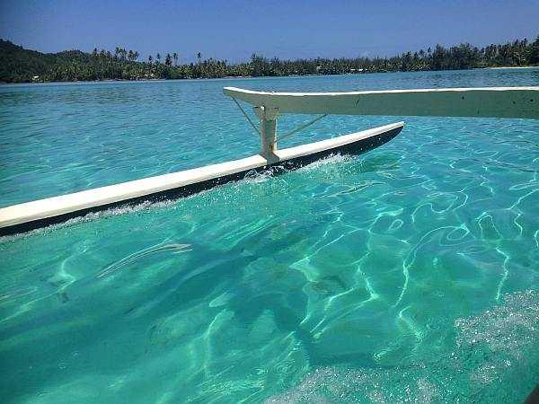Tahiti Turquoise waters