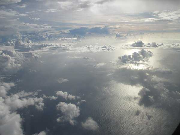 Tahiti in the Pacific Ocean