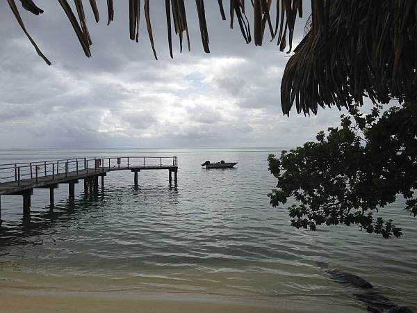 Tranquility in Huahine