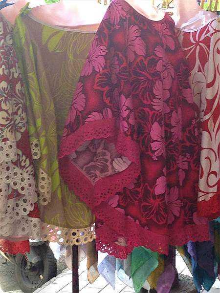 Tahiti's tropical and vibrant fabric colours