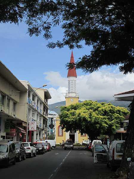 Polynesia's capital Papeete