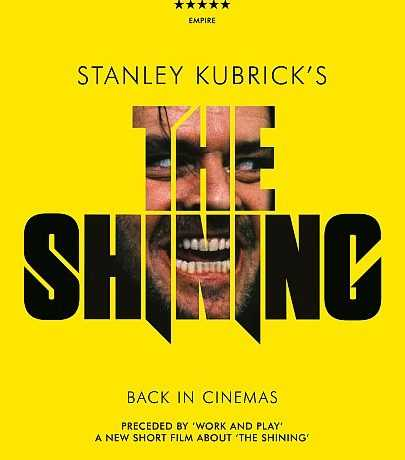 The Shining screened only tonight across 100 UK cinemas - Film Poster