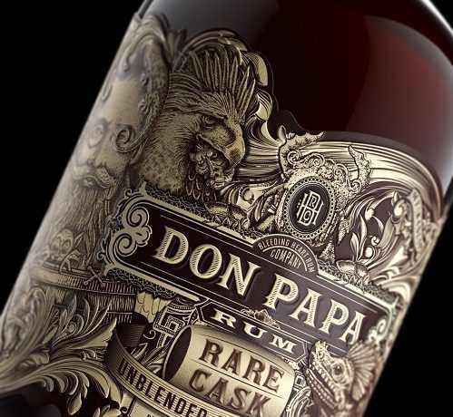 A RUM BUSINESS FOR ADon Papa Rare C_Bottle Label