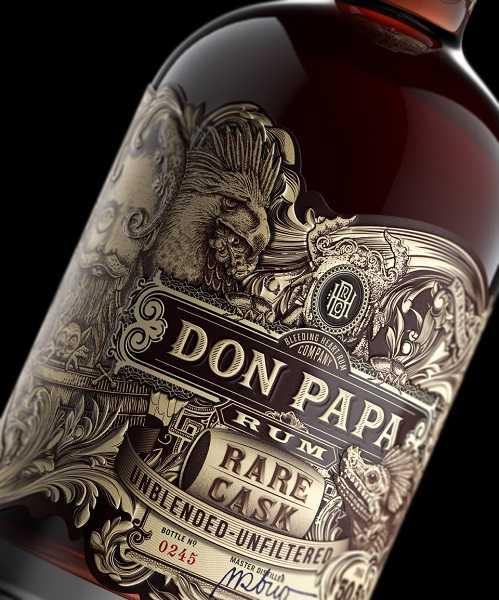 Don Papa Rare C_Bottle Label