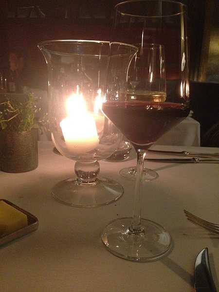 Corrigan's of Mayfair for those looking for premium tasty food - A good glass of red, candles .. just relaxing