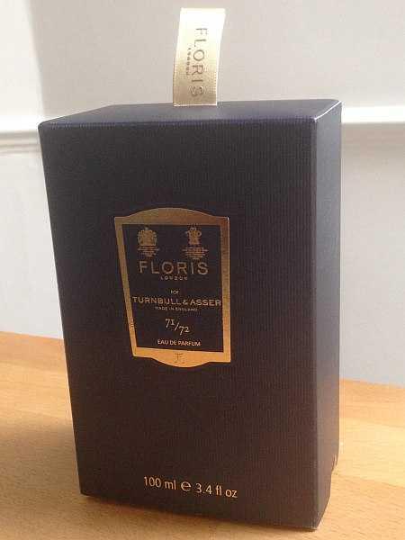 Gentlemans elegant fragrance when FlorisTurnbull & Asser - Shirt tag