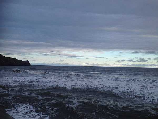 The Etiquette of our wellbeing and how if your Mindfulness today - Sandsend..The North Sea .. Yorkshire