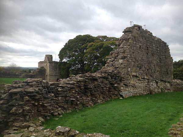 Pickering Castle in Yorkshire