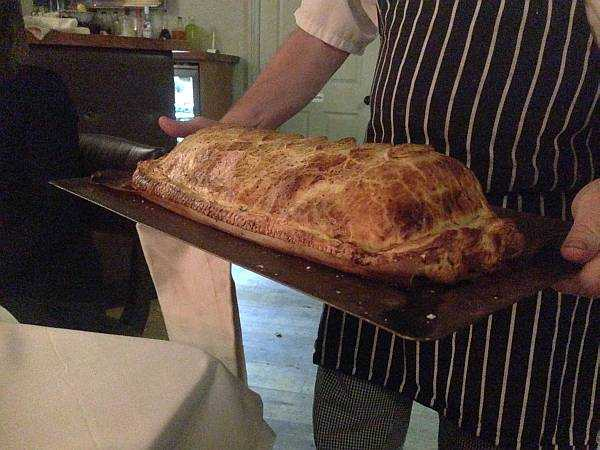 The White Swan - Beef Wellington