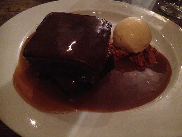 Five ladies and a Butler at The White Swan - Sticky Toffee Pudding at The White Swan