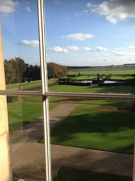 Five ladies and a Butler at The White Swan - Views from the 1st floor from Castle Howard