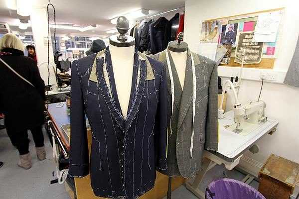 Savile Row Men's Fashion Tour - Luxury tailoring