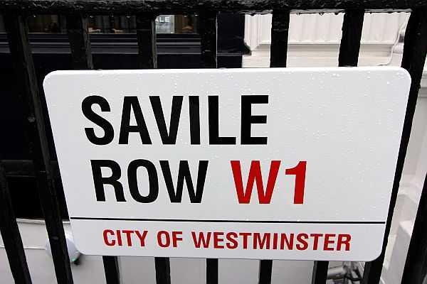 Savile Row Steet Sign