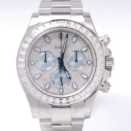 Rolex Daytona Platinum & Diamonds Mens Platinum Watch