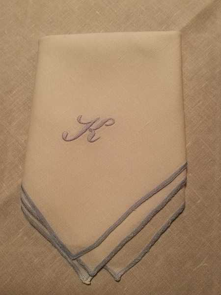 HOTEL Zürserhof, Zurs, ski luxuries from Dirndls to ski school - Klosterle Restaurant Napkin