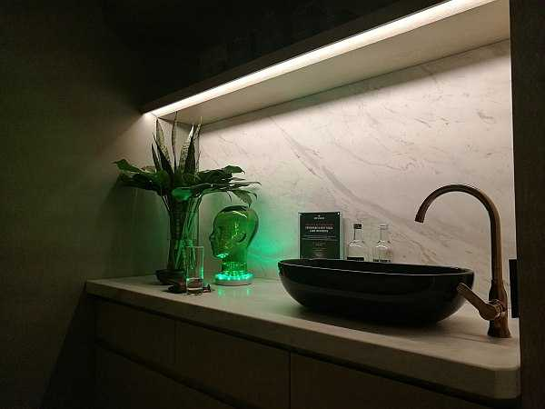 Harvey Nichols Beauty Lounge treatment room