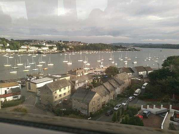 The Nare Hotel, Cornwall offering true English traditional comfort - Views from the GWR first class train