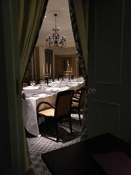 The Petersham Restaurant, Richmond offers a slice calm & seclusion - Larger Private Dining Rooms